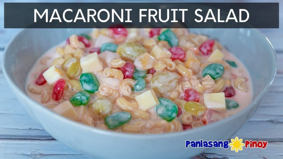 Macaroni Fruit Salad | Panlasang Pinoy