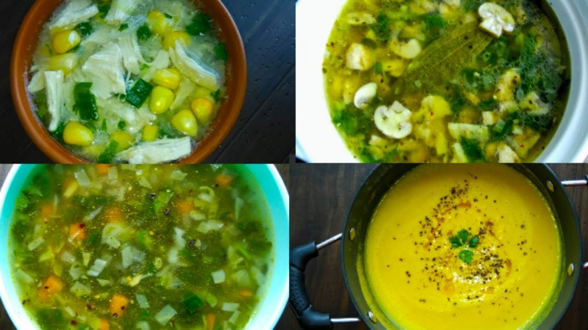 4 Soup Recipes For Weight Loss | Lose Weight Fast With These Healthy & Easy Warm Winter Soups