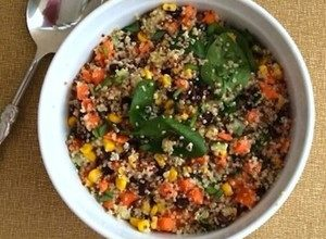 Warm Vegetable and Quinoa Salad