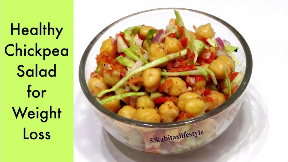 Chickpea Salad Recipe | Weight Loss recipe | Healthy Salad for Diet |Salad Recipe | KabitasLifeStyle