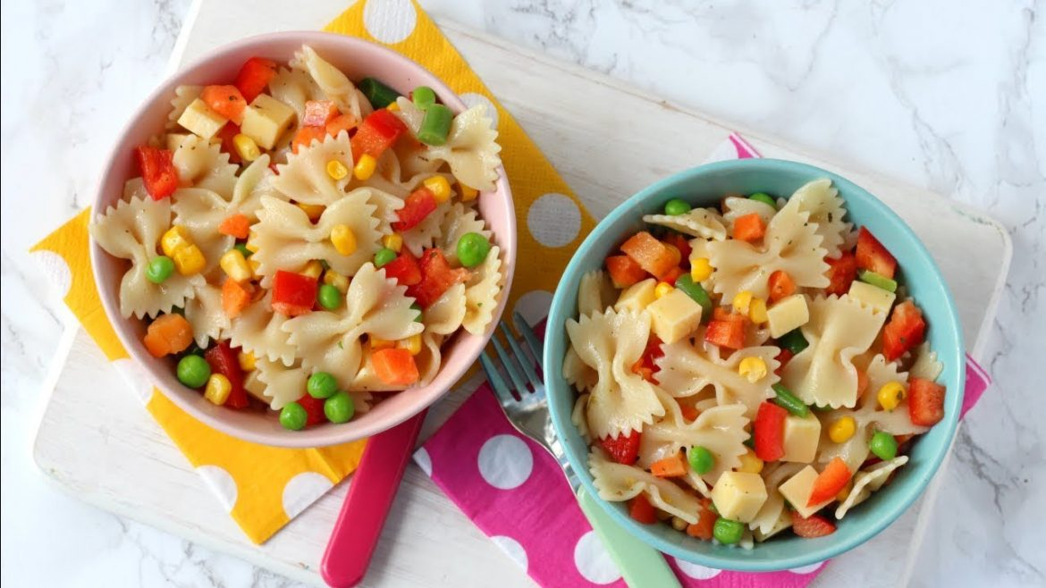 Easy Pasta Salad for Kids | 15 Minute Meal