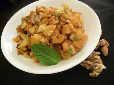 Healthy Sweet Potato Chaat – Indian Salad Recipe