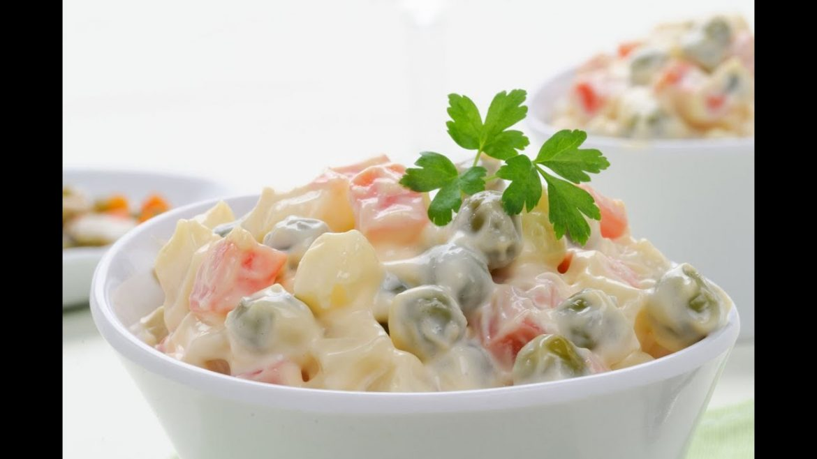 Russian Salad Recipe – How to Make a Quick Yummy Russian Salad
