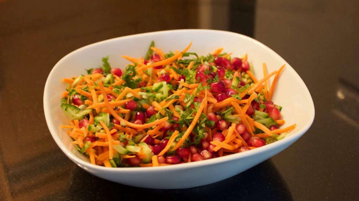 Healthy Sprouts Salad Recipe (Vegan, Indian) – Indulgent Fuel