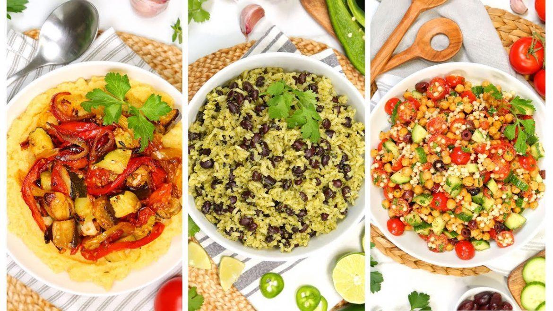 3 Easy Vegan Recipes | Healthy Meal Plans 2020