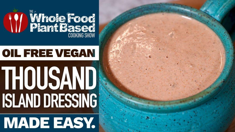 OIL FREE VEGAN SALAD DRESSING RECIPE OF THE GODS » Thousand Island Dressing (Big Mac Sauce)