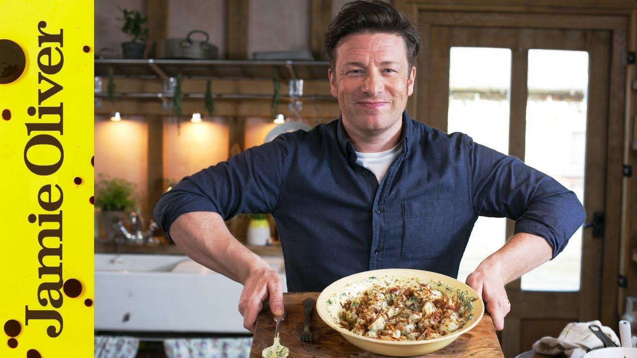Perfect Potato Salad 3 Ways Jamie Oliver Easy Salad Recipes