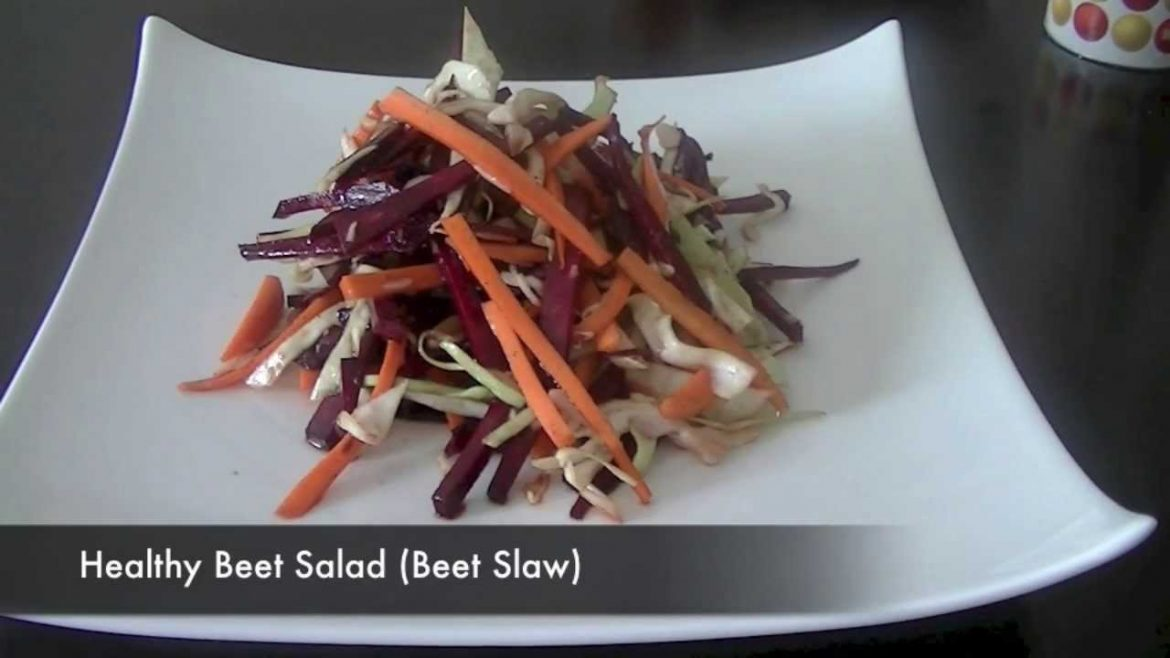 Tasty Beet Salad Recipe (Healthy Vegetarian Salad)