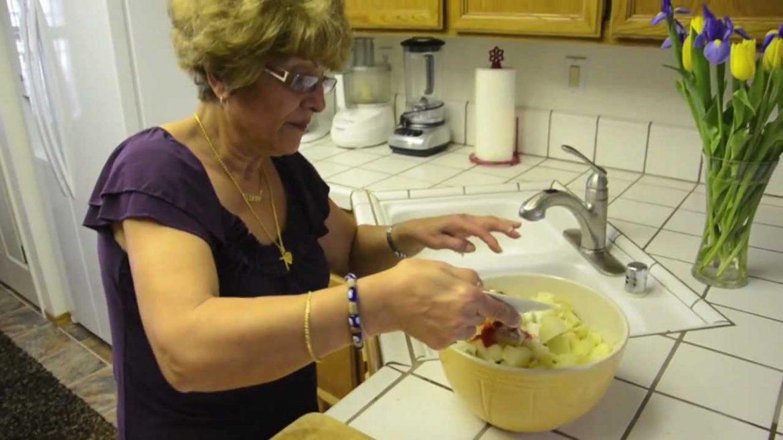 Best Vegan Mediterranean, Middle Eastern Potato Salad Recipe