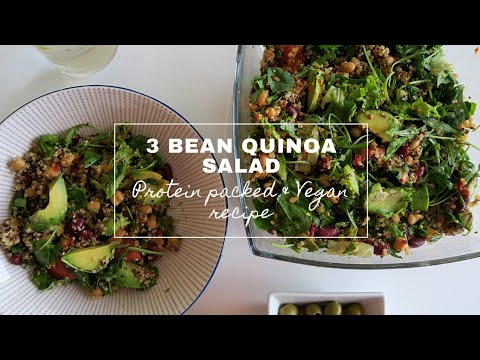 Healthy Salad | Beans Salad | Quinoa Salad |  VEGAN SALAD | Protein-Packed | Healthy Recipe