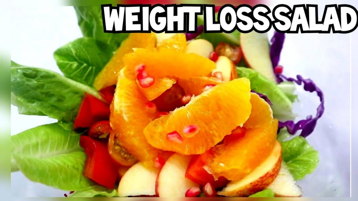 HEALTHY SALAD FOR WEIGHT  LOSS | VEGAN DIET  | PLANT BASE DIET