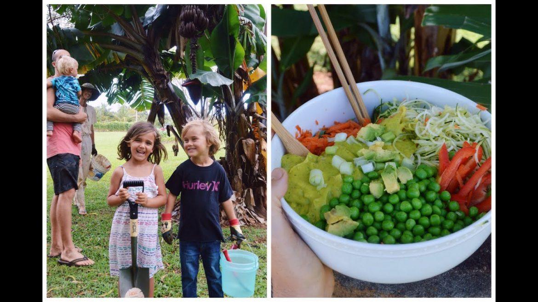Planting Bananas | DELICIOUS SALAD recipe