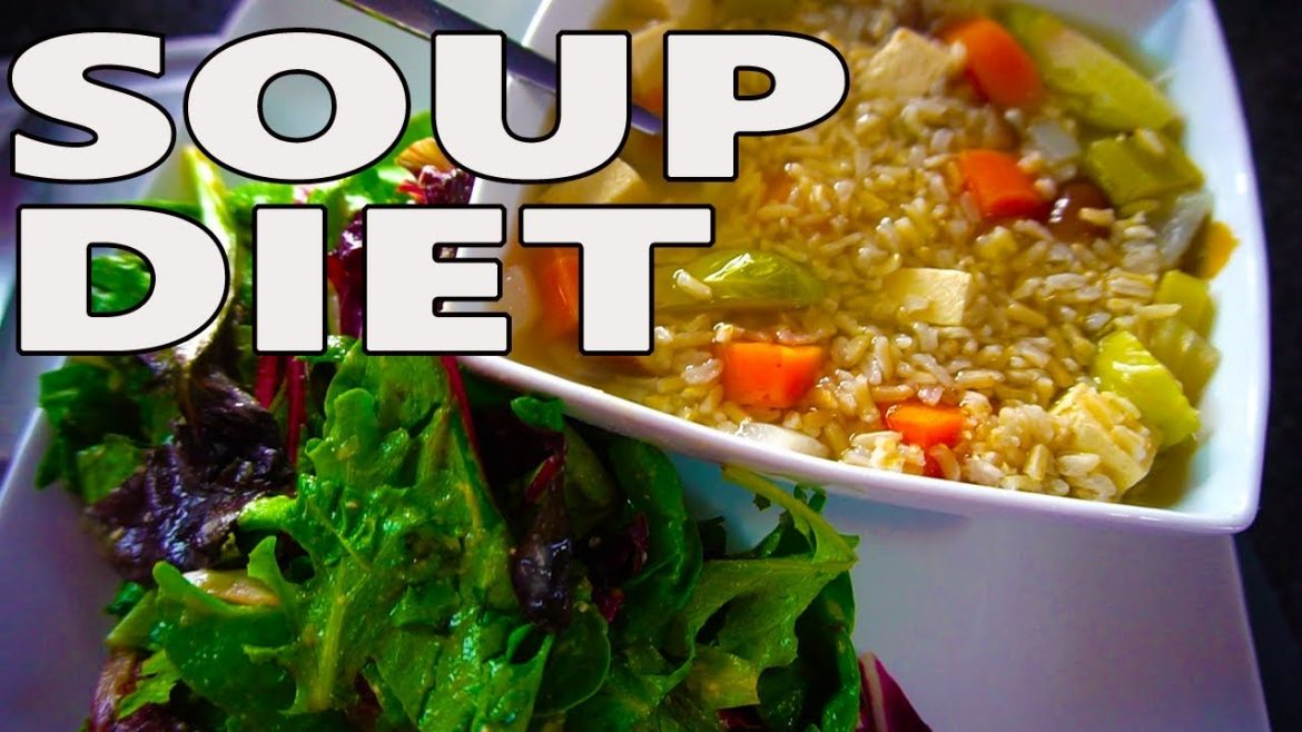 SOUP & SALAD RECIPE (VEGAN) // WEIGHT LOSS UPDATE
