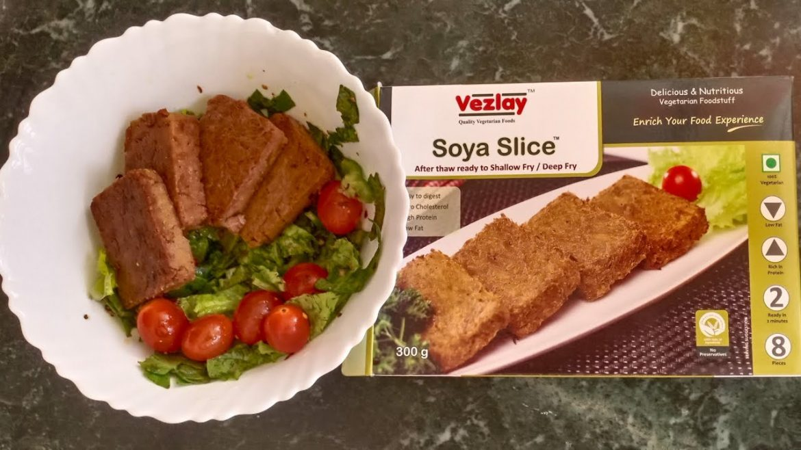 VEZLAY SOYA SLICE SALAD | Vegan | Salad Recipe