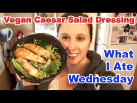 What I Ate: Quick Vegan Caesar Salad Dressing | Oct 24