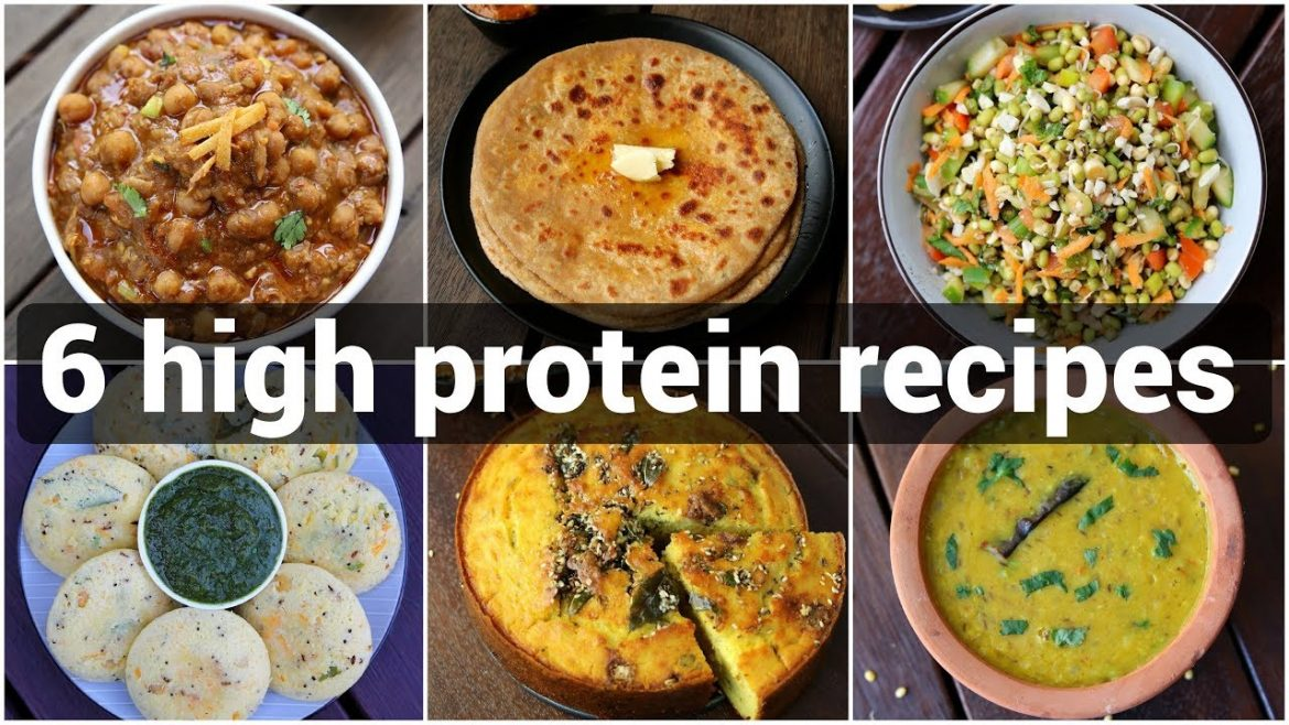 6 high protein recipes for daily diet | high protein snacks and breakfast recipes