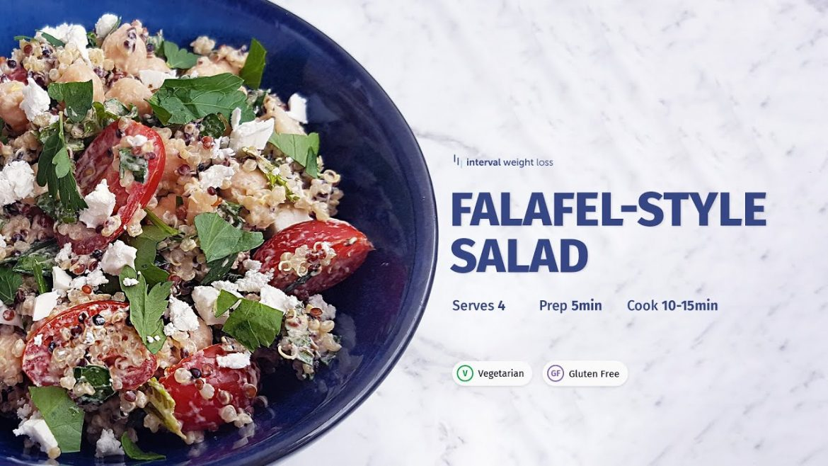 Falafel Style Salad – Recipes by Interval Weight Loss