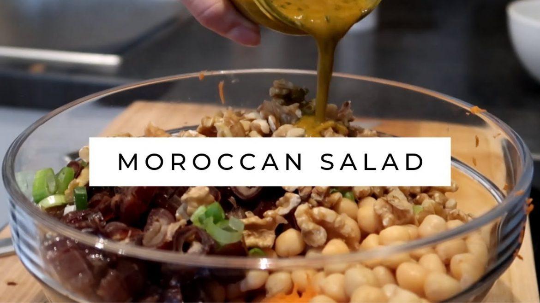 RECIPE: Vegan Moroccan Salad