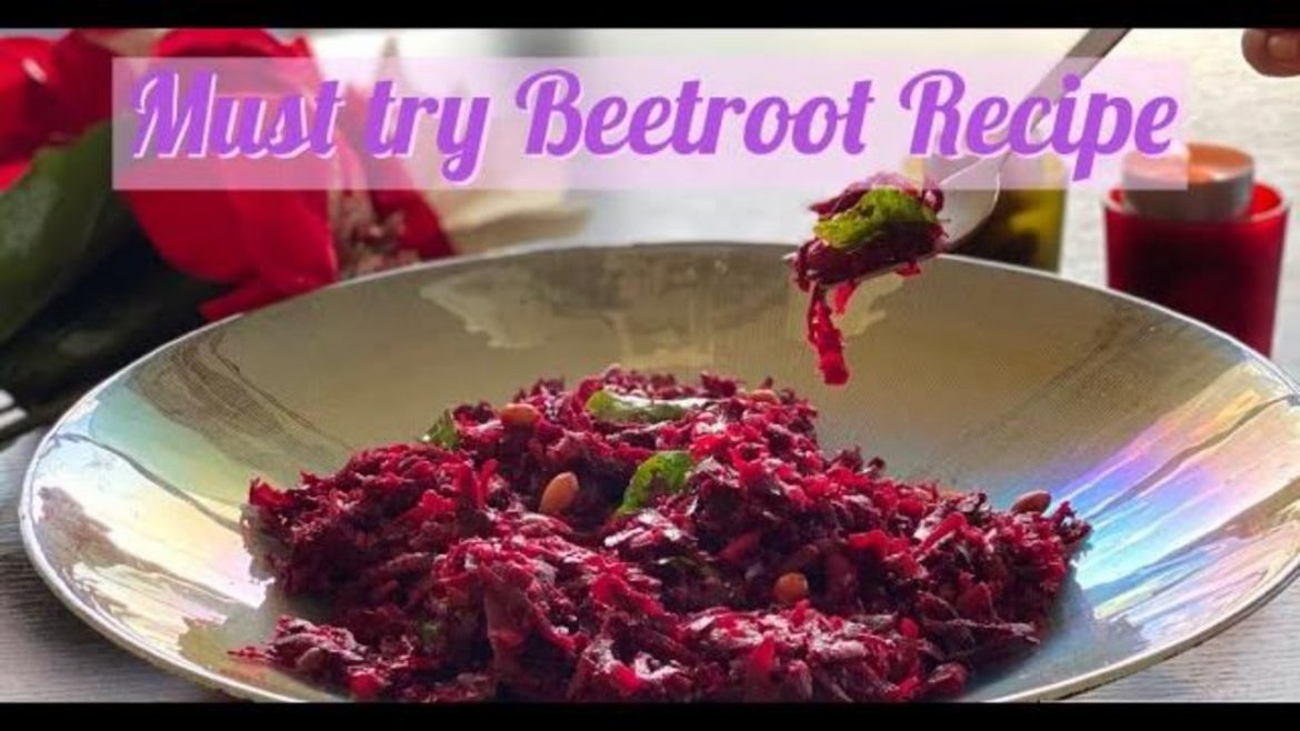 Beetroot Recipes | Roasted Beetroot Salad Recipe | Vegan Beetroot Recipe