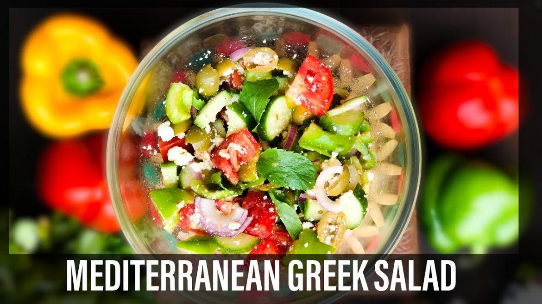 Easy Greek Salad Recipes | How to make Greek Salad | Healthy Salad Recipes | Epic Greek Salad