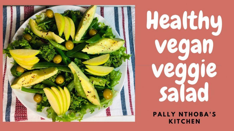 HEALTH VEGAN VEGGIE SALAD | YUMMY HEALTHY SALAD | WEIGHT LOSS MEAL