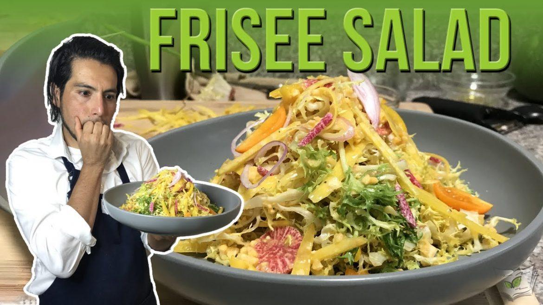My Frisée Salad Recipe