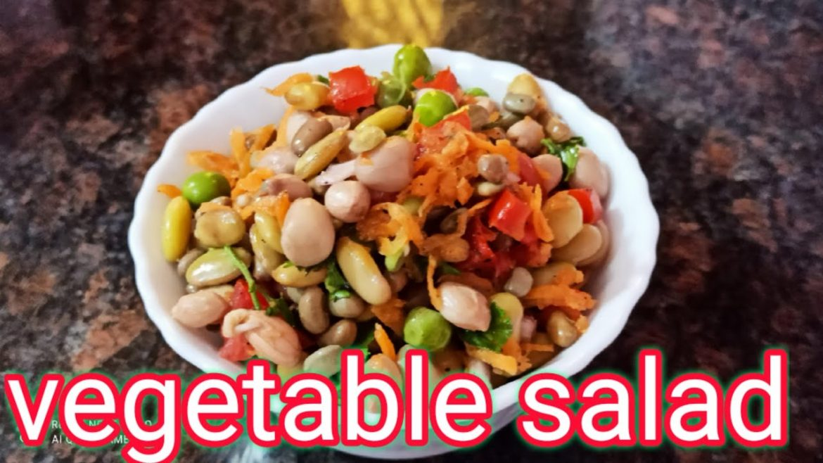 Vegetable salad recipe in tamil/healthy vegetable salad recipe/how to make vegetable salad recipe