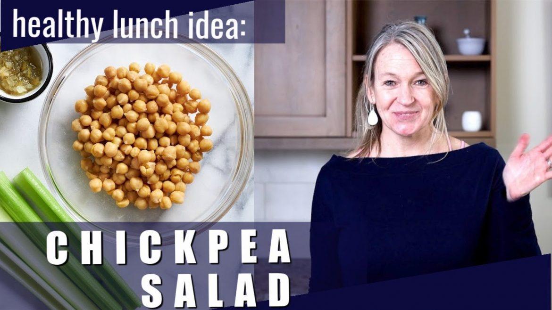 Chickpea Salad Recipe – Easy Lunch Idea