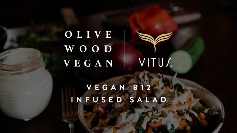 Vegan B12 Infused Salad by Olive Wood Vegan x VITUS Wholefoods