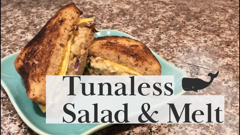 Vegan GLUTEN FREE Tunaless Salad & Melt! | Recipe for vegan transitions. #Veganuary 2021