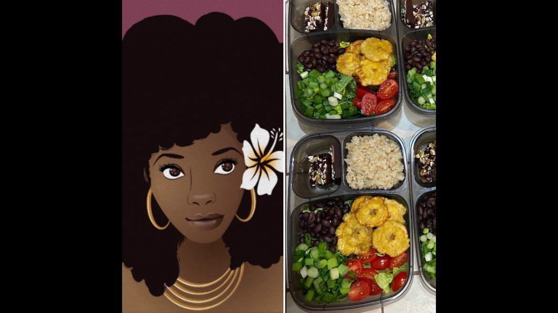 1. Vegan Meal Prep (Easy & Affordable)  – Fiesta Salad