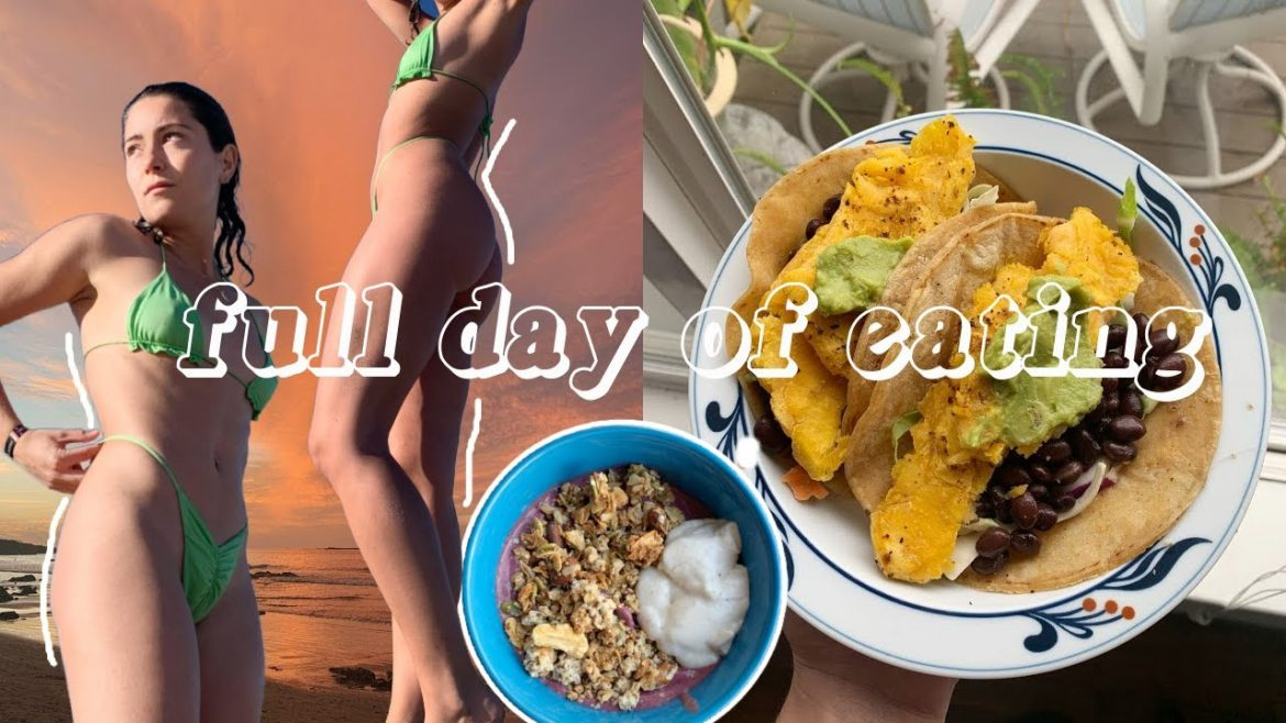 Full Day of Eating | Healthy Vegan Meal Ideas