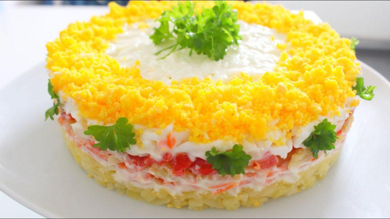 Reteta Salata Delicioasa ! Cea mai buna Salata Mimosa ! The best salad recipe ! Beste Salat Rezept !