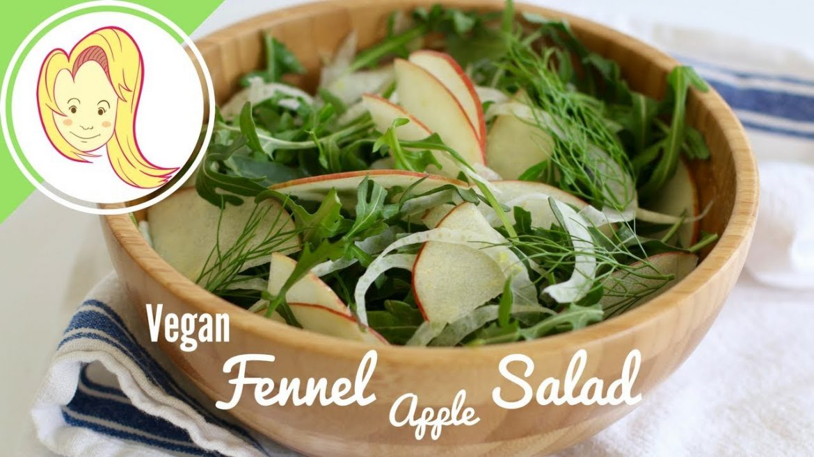 Fennel Apple Salad (Vegan)